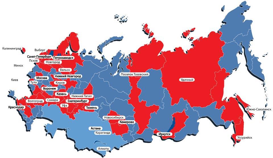 Карта поставок оборудования IONE